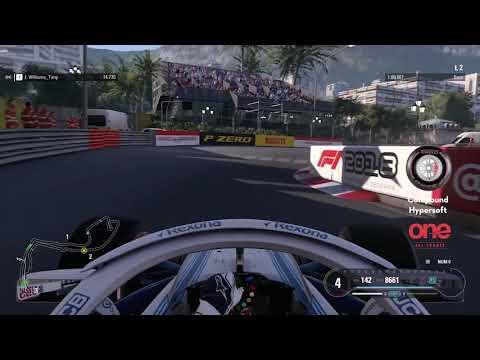 Esports Laptime Challenge - F1 2018, Monaco