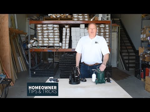 Homeowner Tips & Tricks - Sump Pumps