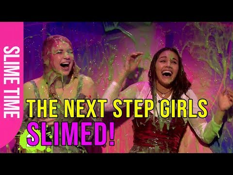The Next Step girls get slimed