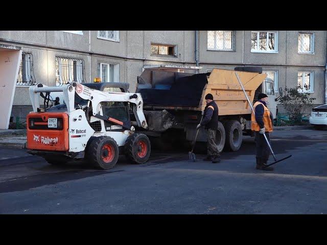 В округе продолжается реализация программ «Комфортная городская среда» и «Дворы без ям»
