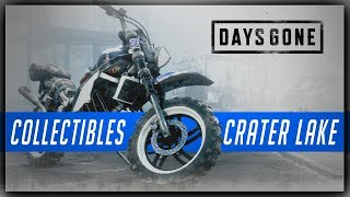Days Gone CRATER LAKE Collectibles Guide - Characters, Nero Intel, Tourism, Speeches, Upgrades