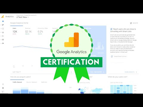 Google Analytics Certification - YouTube