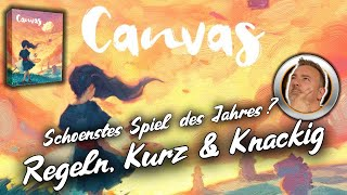 CANVAS - Wunderschön - Regeln, Kurz und Knackig - Brettspiele