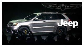 2018 Jeep® Grand Cherokee Trackhawk Reveal | NYIAS | Jeep