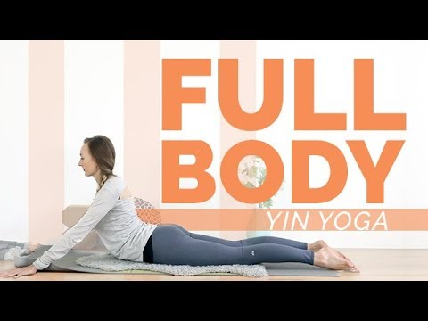 Full Body Yin Yoga 1 Hour - Grounding Techniques | Root Chakra