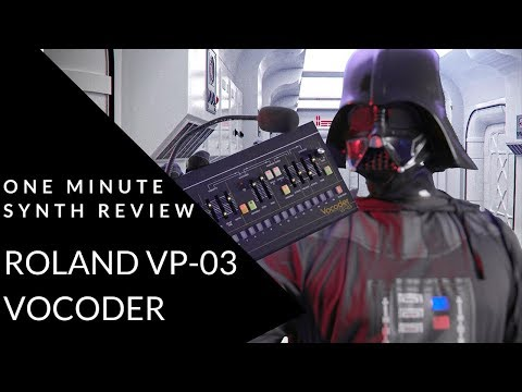ONE MINUTE SYNTH REVIEW!!! Ep. 15 Roland VP-03 Vocoder
