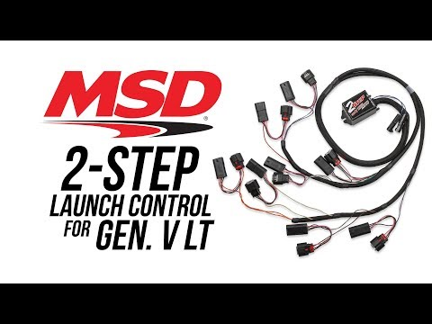 MSD 2-Step Launch Control for GM Gen. V LT Engines