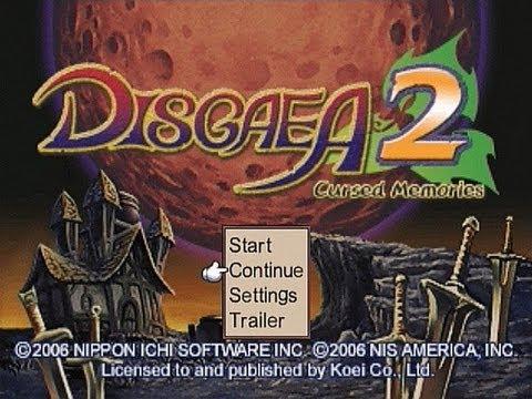 Disgaea 2 : Cursed Memories Playstation 2