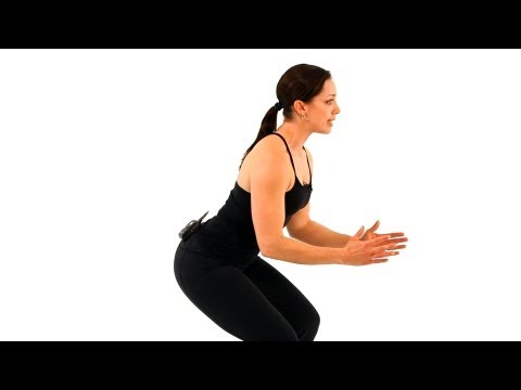HOW TO DO A REGULAR SQUAT CORRECTLY VIDEO