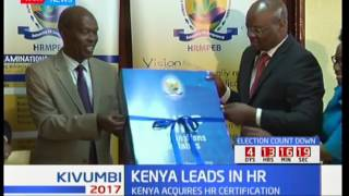 Kenya acquires  Human Resource  certification