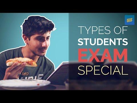 ScoopWhoop: Types Of Students We Meet During Exams
