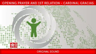 Opening prayer and 1st Relation - Cardinal Gracias 2019-02-22