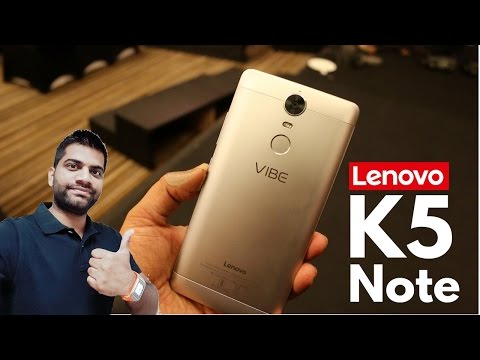 Lenovo Vibe K5 Note 64GB