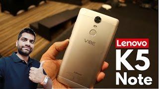 Lenovo Vibe K5 Note (4GB RAM)