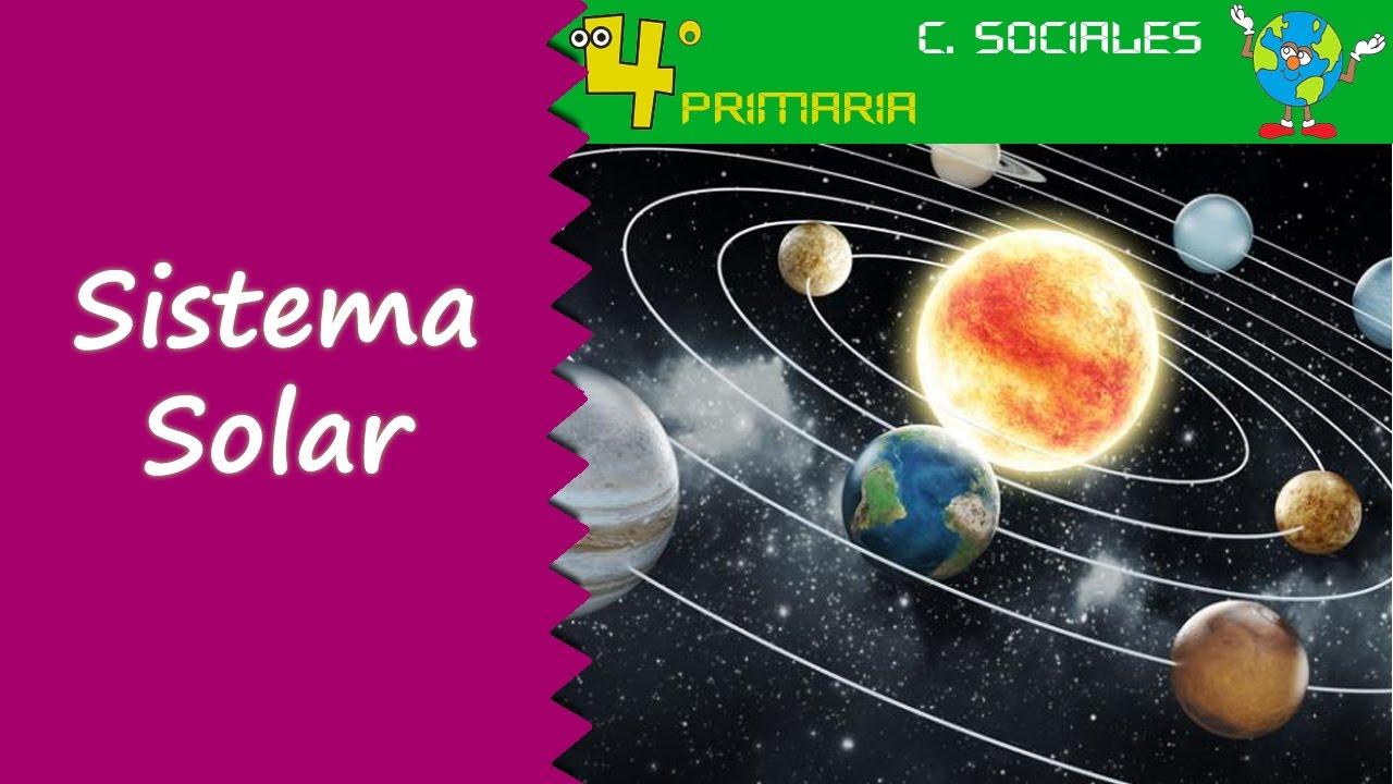 Ciencias Sociales. 4º Primaria. Tema 1. El Sistema Solar