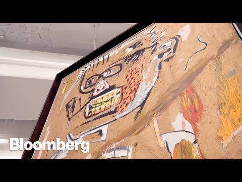 A Peek Inside Christie's Underground Art Vault