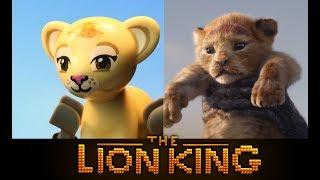 LEGO The Lion King 2019   Official Teaser Trailer   Side By Side Version!