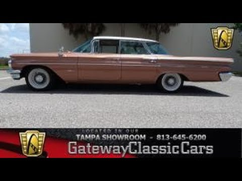 Video of Classic '60 Bonneville located in Florida - $26,995.00 Offered by Gateway Classic Cars - Tampa - NCZ9