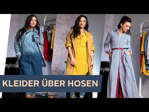 HOW TO STYLE: KLEIDER ÜBER HOSEN ~ refashion | OTTO