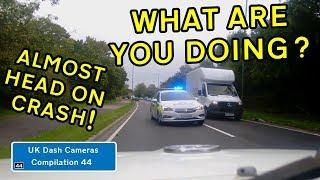 UK Dash Cameras - Compilation 44 - 2019 Bad Drivers, Crashes + Close Calls