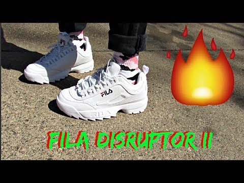 """Fila """"Disruptor II"""" Unboxing, Review & On Feet"""
