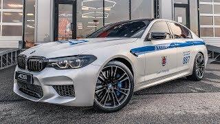 СДЕЛАЛ ИЗ СВОЕЙ BMW M5 F90 ПОЛИЦЕЙСКИЙ АВТОМОБИЛЬ! BMW M5 F90 ДПС EDITION! (АВТОВЛОГ #33)