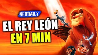 El Rey León EN 7 MINUTOS