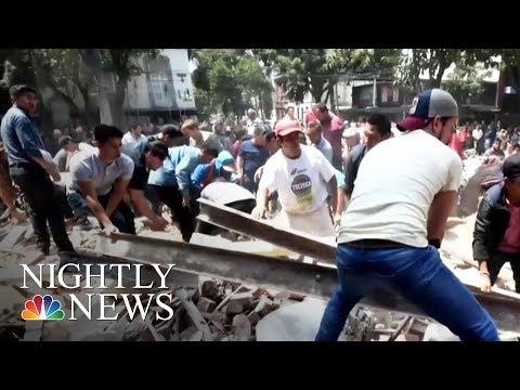 7.1-Magnitude Earthquake Rattles Mexico City   NBC Nightly News