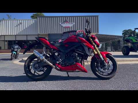 2018 Suzuki GSX-S750 in Greenville, North Carolina - Video 1