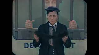 Buster Keaton (Laurel & Hardy TV) THE GOAT COLOR KOLORIERT