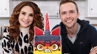 Baking A Unikitty Cake w/ Ryland Adams! - NERDY NUMMIES