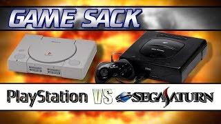 Sony PlayStation VS Sega Saturn - Game Sack