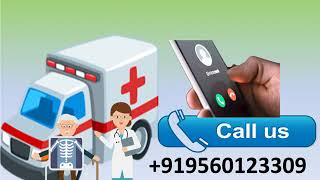 Hi-tech Road Ambulance Service in Chatarpur and Chanakyapuri by Medivic