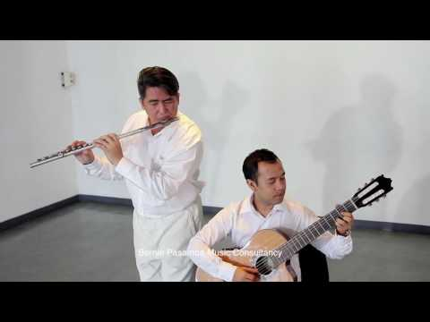 DUET (Flute & Guitar): Man in the Mirror