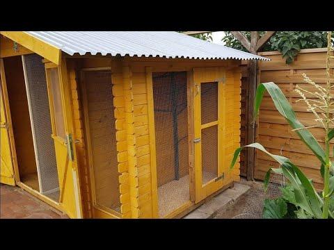 Gartehütte bauen & zur Voliere erweitern 🏠