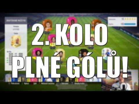 2. KOLO DRAFTU PLNÉ GÓLŮ! | FIFA 18 | CZ/SK