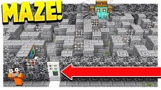 OP MINECRAFT PRISON MAZE! (Minecraft Prisons #5)