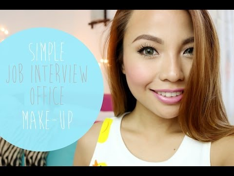 Simple Job Interview | Office Make Up