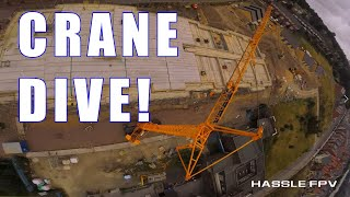 Crane Ripping! FPV Freestyle to new heights!