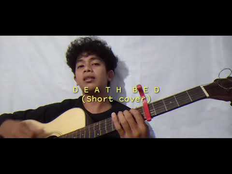 Powfu - Death bed    Short cover with lyrics (Guitar chords)
