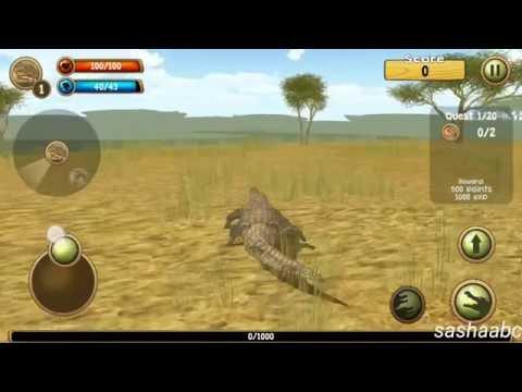 wild crocodile simulator обзор игры андроид game rewiew android.