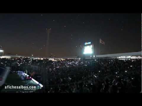 """""""Hinchada Alba (Noche Alba 2013)"""" Barra: Garra Blanca • Club: Colo-Colo"""