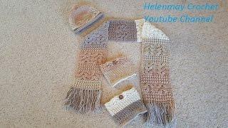 Helenmay Crochet Heavenly Blessing Matching Boot Cuffs DIY Tutorial