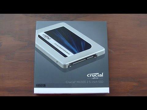Crucial MX300 1TB SATA 2.5″ Internal Solid State Drive upgrade review before and after
