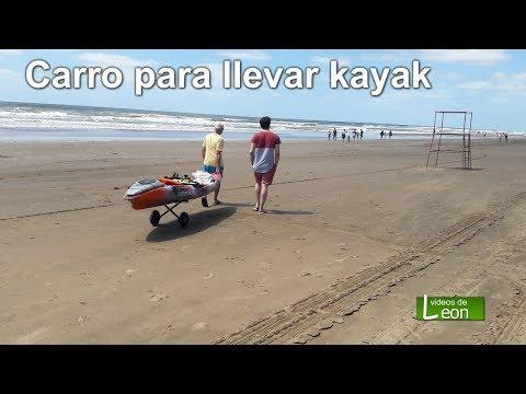 Carro para llevar kayak