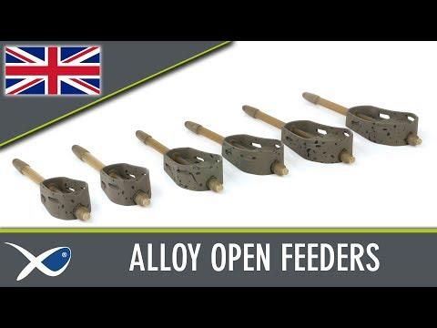 Matrix Alloy Open Method Feeders Kosár videó