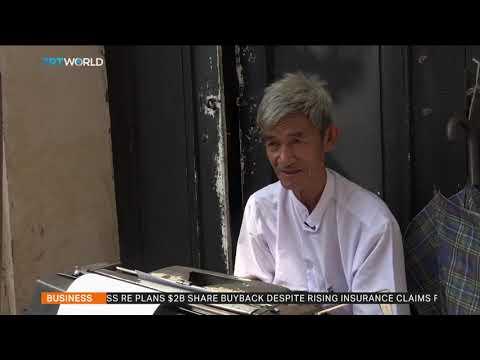 Myanmar typists keep business alive despite low demand