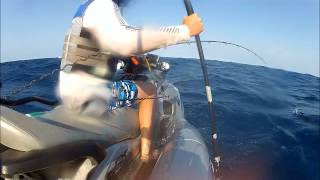 preview picture of video 'Jet Ski Fishing at Ponta Do Ouro 2012'
