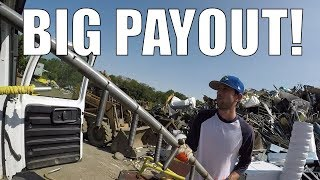 Trip to the Scrap Yard - Biggest Payout of my LIFE