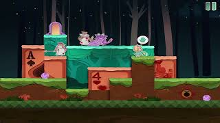 Paper Anne : Level 1-5 A Strange Cat Walkthrough {Gameplay / ios}